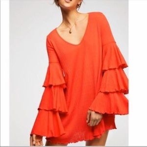 🆕 Free people Beach seashore mini dress, XS